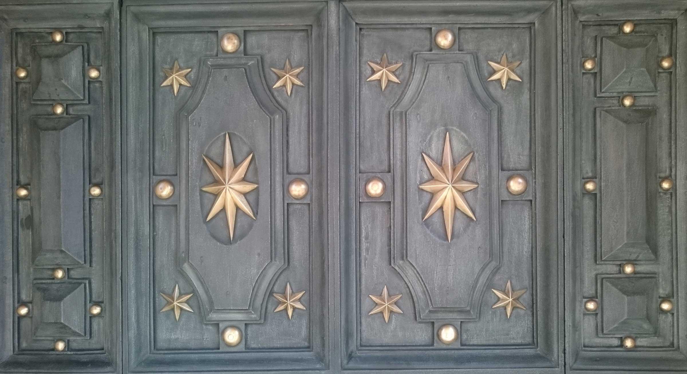 Restauro Portone Duomo Reggio Emilia