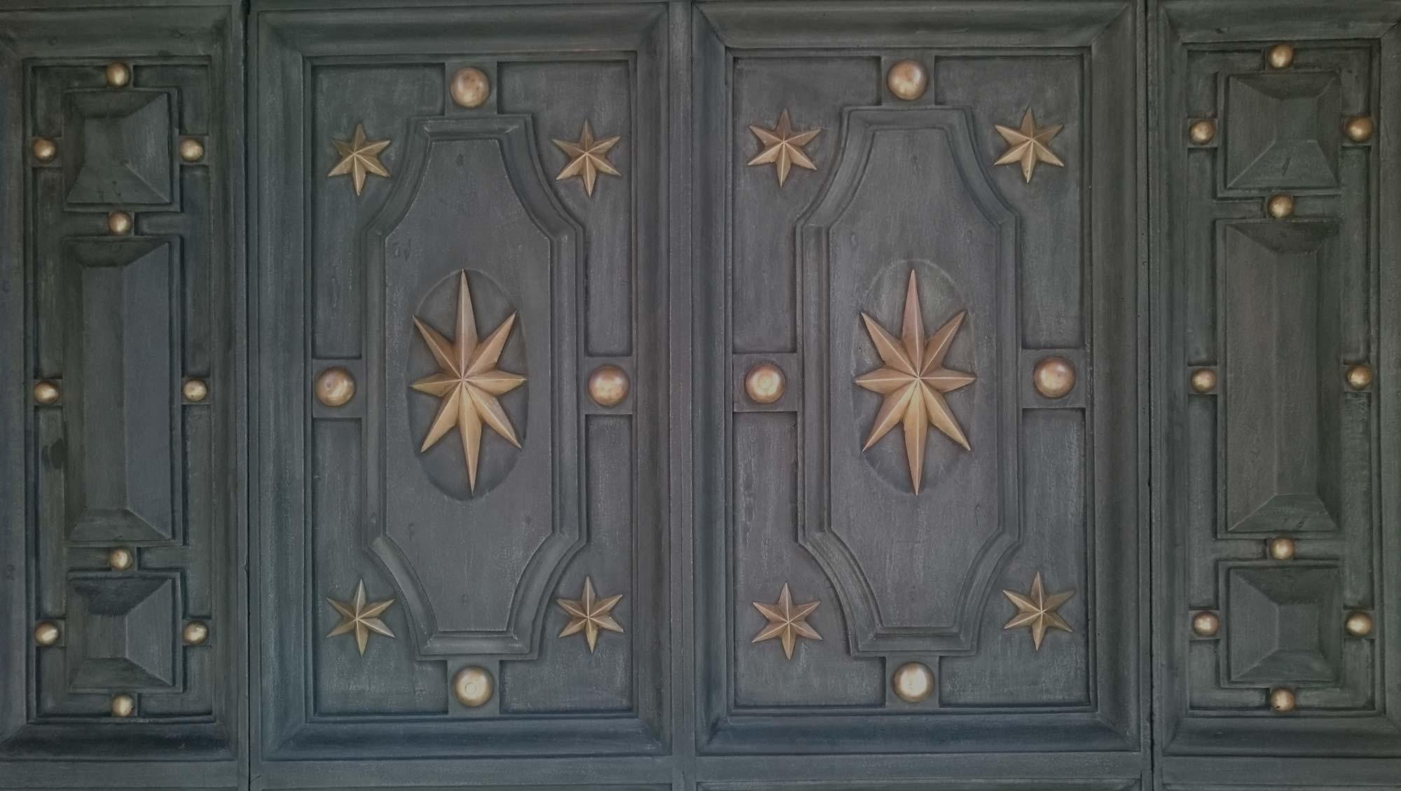 Portone del Duomo di Reggio Emilia