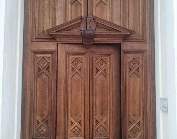 Restauro Portone del Duomo di Carpi