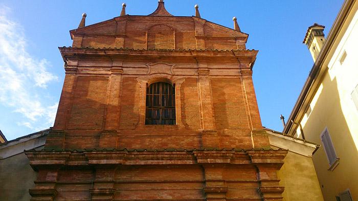 Finestroni Chiesa Annunziata Rubiera