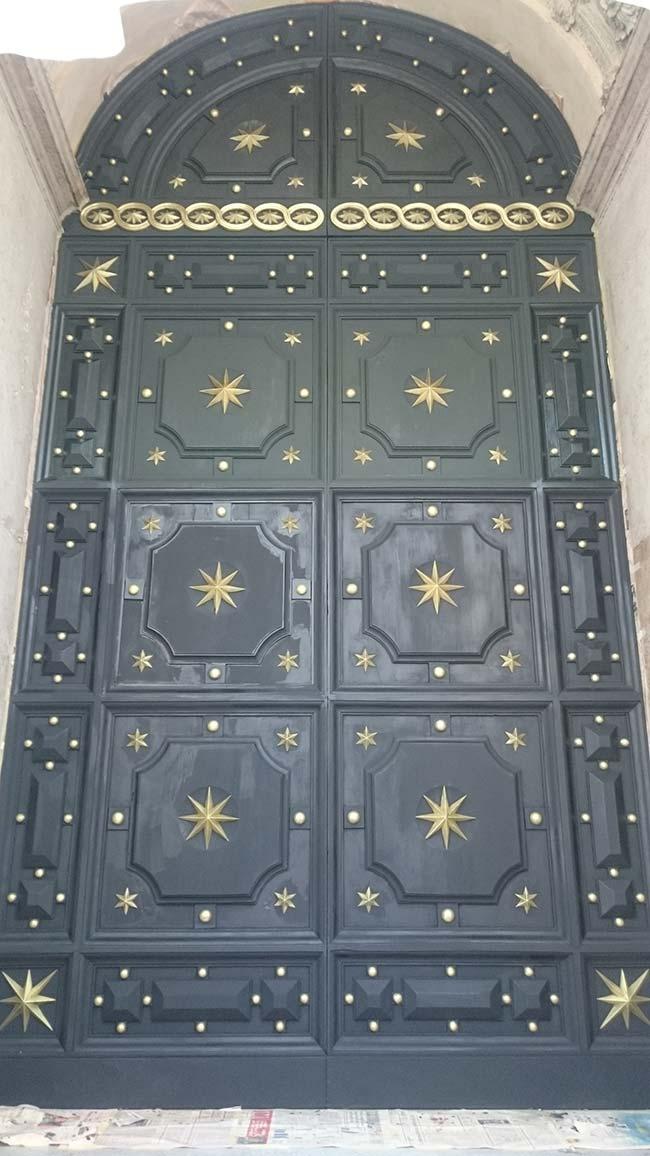 Portone Duomo Reggio Emilia Dopo