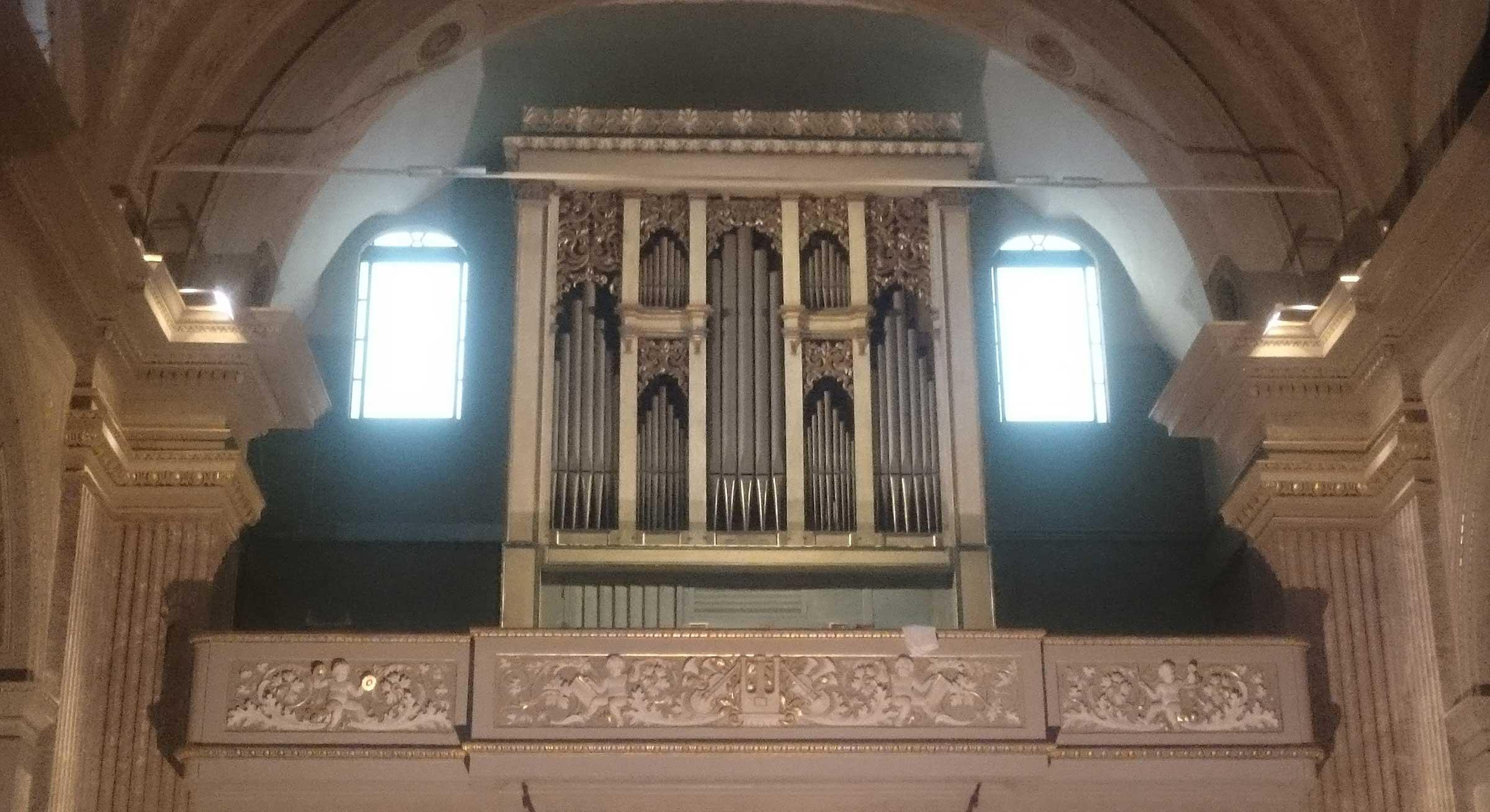 Restauro Organo Chiesa Guastalla