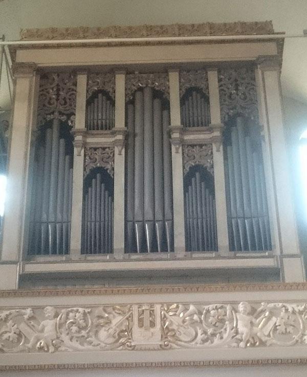 Restauro Organo Guastalla Reggio Emilia